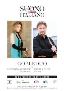 foto concerto globeduo madrid
